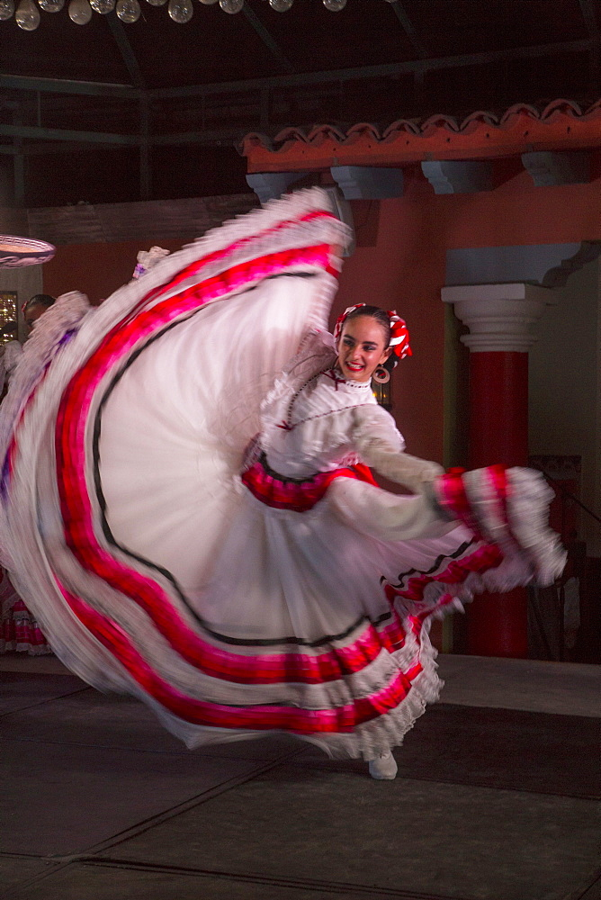 Mexican Traditional folk dancing, Puerto Vallarta, Jalisco, Mexico, North America - 632-5351