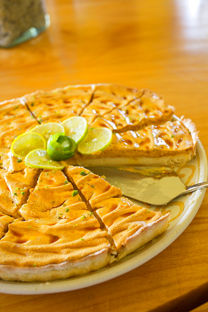 Key lime pie, Costa Careyes, Costalegre, Jalisco, Mexico, North America