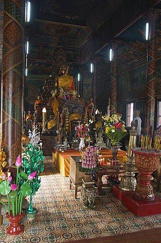 Wat Phnom, Phnom Penh, Cambodia, Indochina, Southeast Asia, Asia