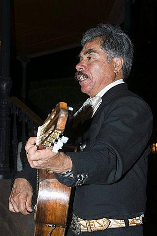 Mariachi Band, San Miguel de Allende, (San Miguel), Guanajuato State, Mexico, North America