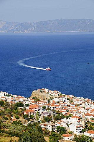 Skopelos Town, Skopelos, Sporades Islands, Greek Islands, Greece, Europe - 641-11509