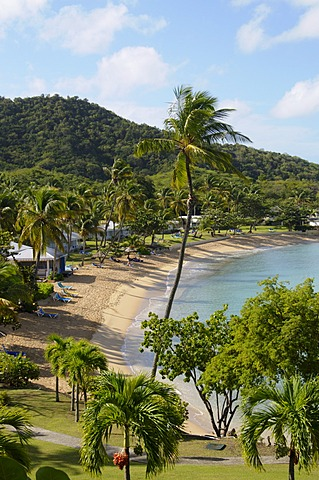 Hawksbill Beach, Hawksbill Hotel, Antigua, Leeward Islands, West Indies, Caribbean, Central America