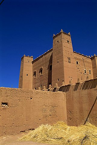 Kasbah in the Dades Valley, Morocco, North Africa, Africa