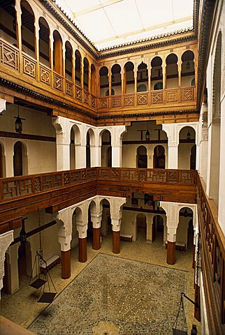 Museum in old walled town or medina, Fez, UNESCO World Heritage Site, Morocco, North Africa, Africa