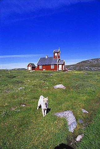 Settlement of Ilimanaq, formerly Claushavn, Greenland, Polar Regions
