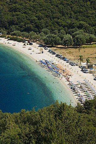 Antisamos Beach near Sami, Kefalonia (Cephalonia), Ionian Islands, Greece, Europe