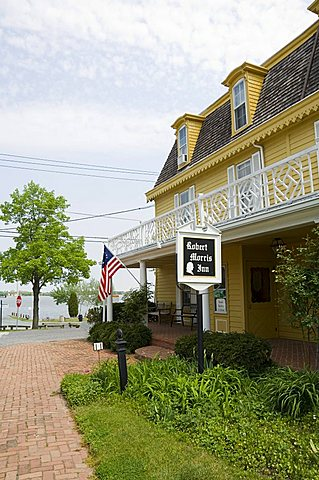 Famous historic Robert Morris Inn, Oxford, Talbot County, Chesapeake Bay area, Maryland, United States of America, North America