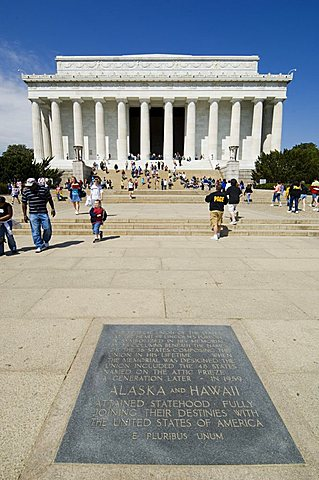 Lincoln Memorial, Washington D.C. (District of Columbia), United States of America, North America