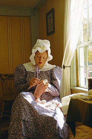 Old Sturbridge Village  - A living museum recreating  life in the 1830's, Massachusetts, USA