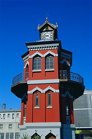 The Clock Tower, Victoria & Alfred Waterfront, Cape Town, South Africa - 645-3227