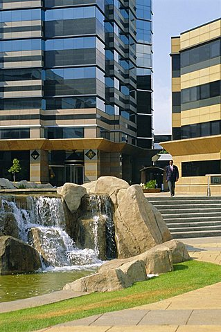Sandton, new financial district of Johannesburg, South Africa