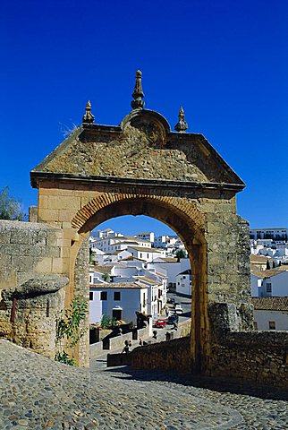 Puerta de Felipe V, Ronda, Andalucia, Spain - 645-3986
