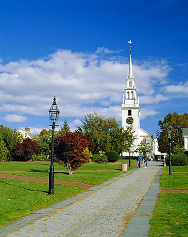 Trinity Church (1726), Newport, Rhode Island, USA