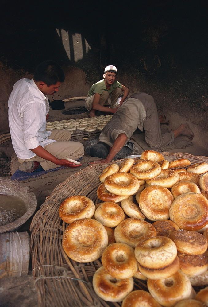 Baker, Kashgar, Xinjiang Province, China, Asia