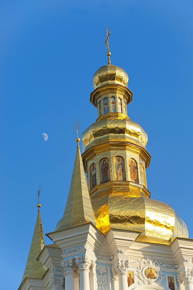 Kovnirs Bell Tower, Church of the Nativity of the Virgin, Pechersk Lavra, UNESCO World Heritage Site, Kiev, Ukraine, Europe - 663-735
