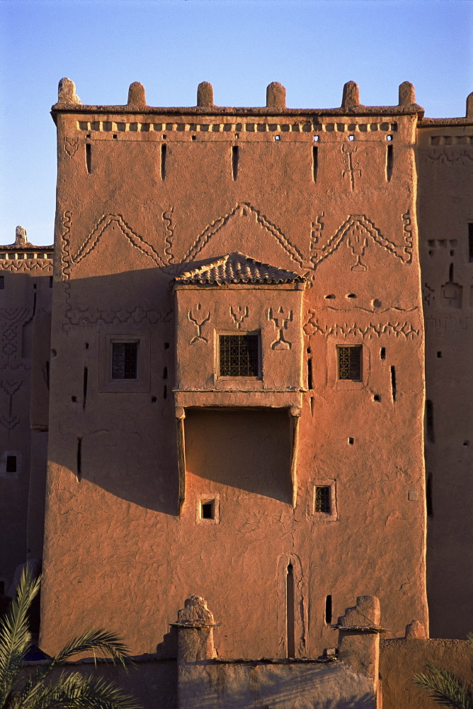 Taouirt kasbah, Ouarzazate, southern area, Morocco, North Africa, Africa