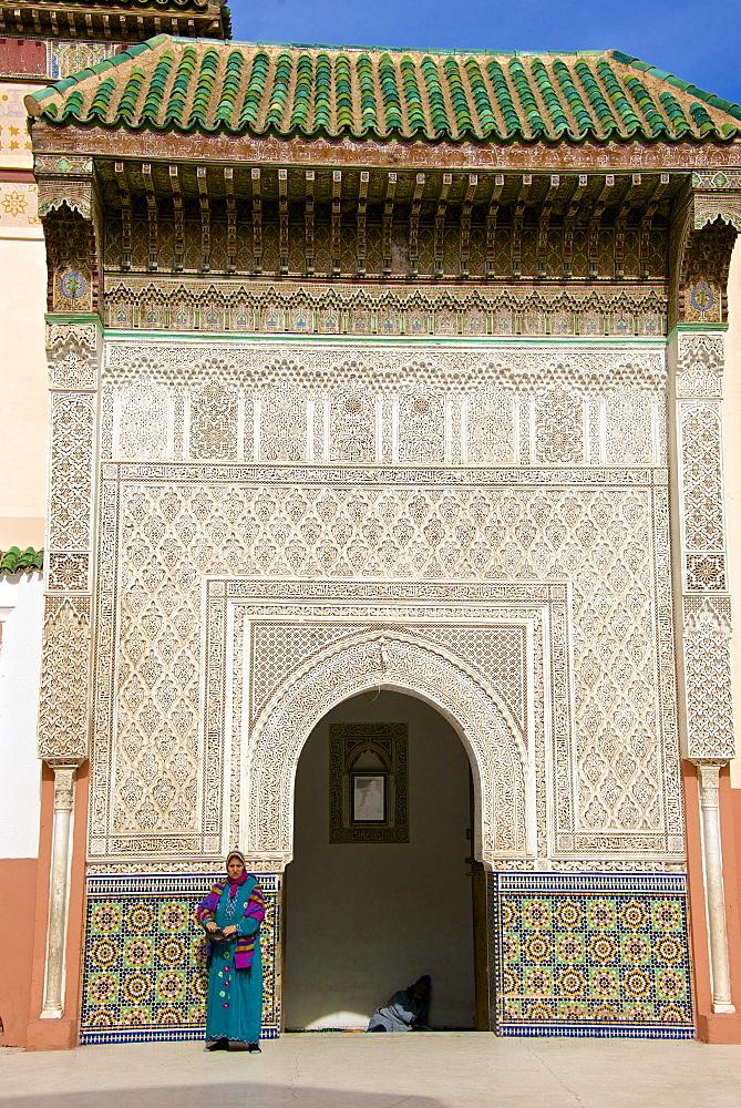 Zawiyya of Sidi Bel Abbes, Marrakech, Morocco, North Africa, Africa