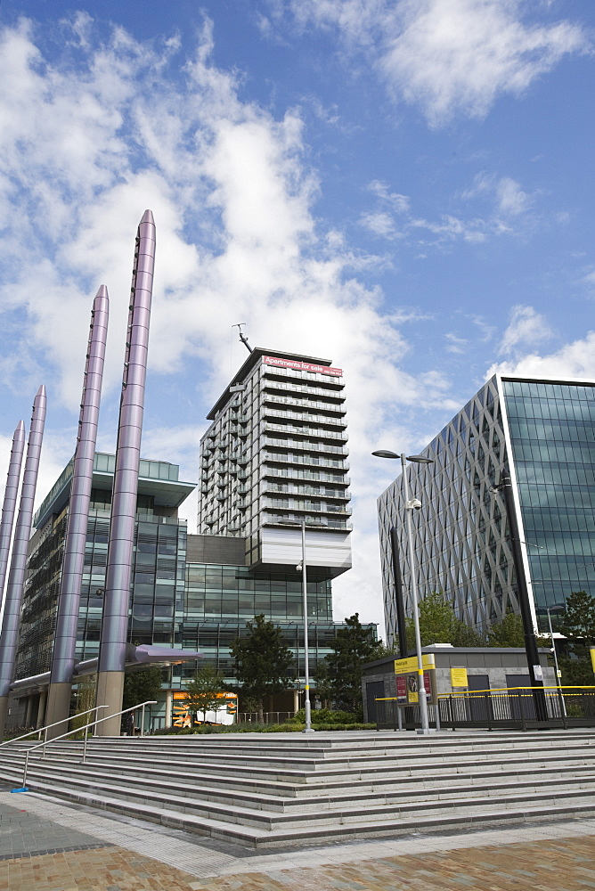 Media City, Salford Quays, Salford, Greater Manchester, England, United Kingdom, Europe