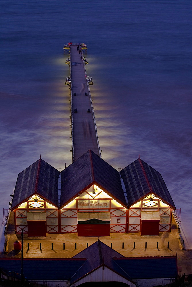 Saltburn Pier, Saltburn-by-the-Sea, Cleveland, England, United Kingdom, Europe