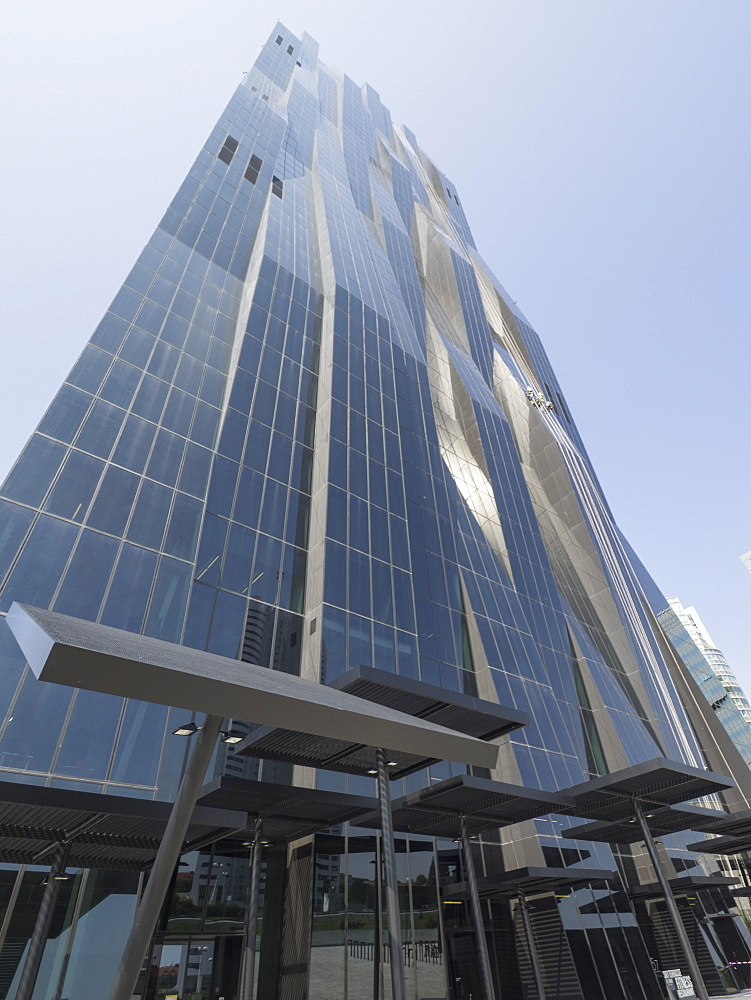 DC Tower 1 by Dominique Perrault, Danube City, Vienna, Austria, Europe