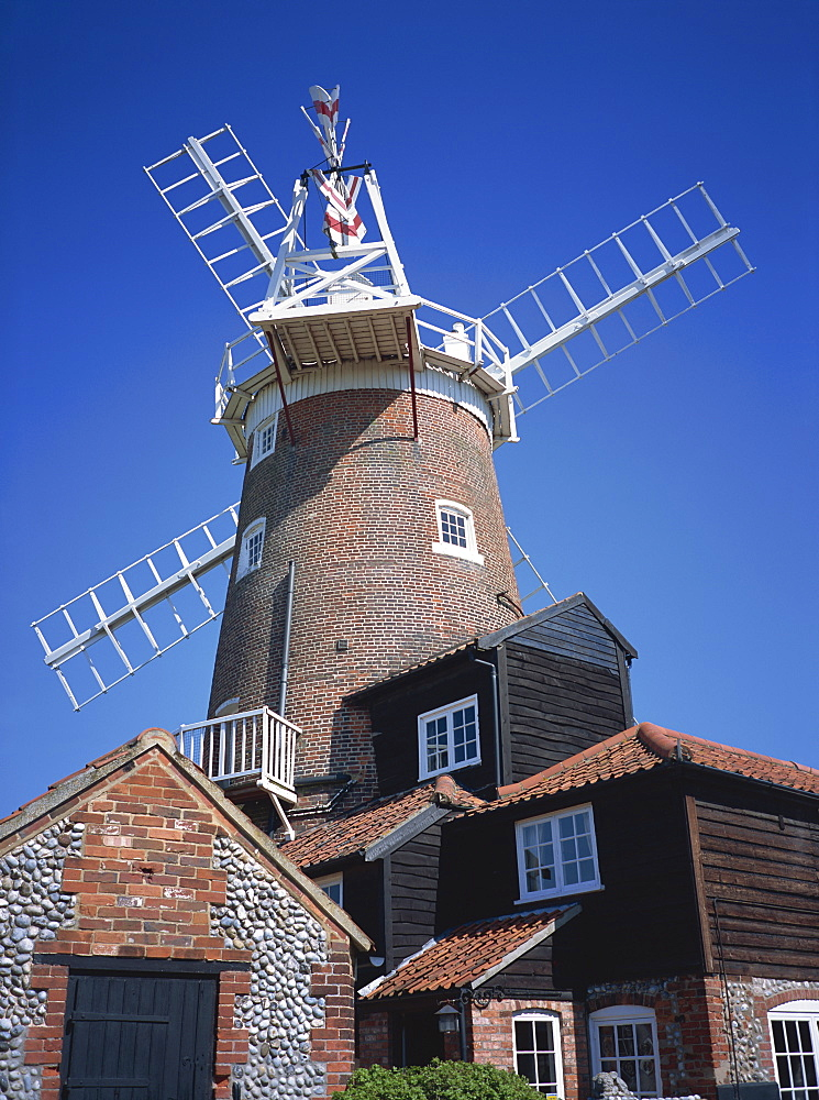 Cley Mill, Cley Next The Sea, Norfolk, England, United Kingdom, Europe