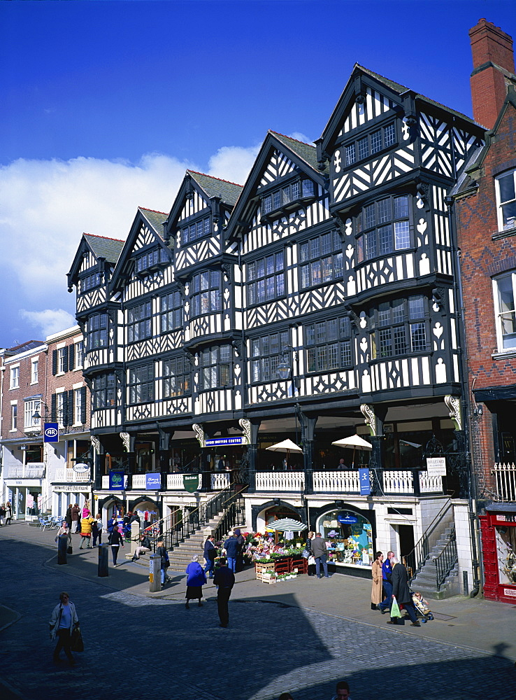 The Rows, Bridge Street, Chester, Cheshire, England, United Kingdom, Europe