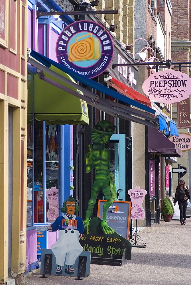 City street, Halifax, Nova Scotia, Canada, North America