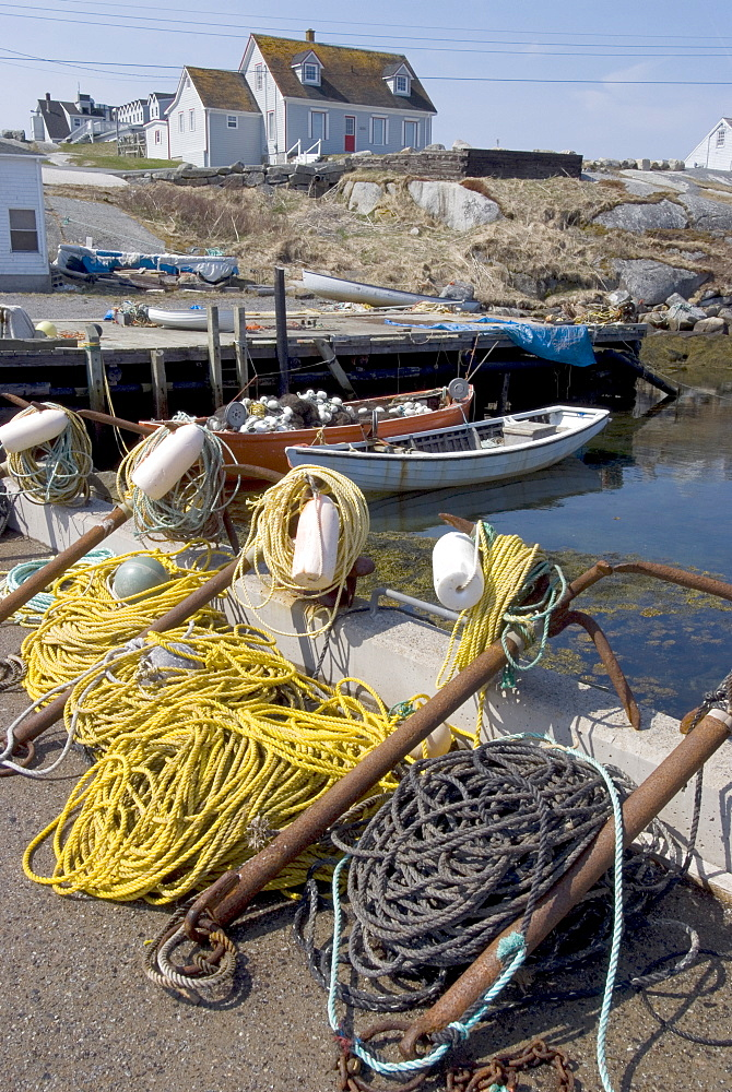 Peggy's Cove fishing village, Nova Scotia, Canada, North America