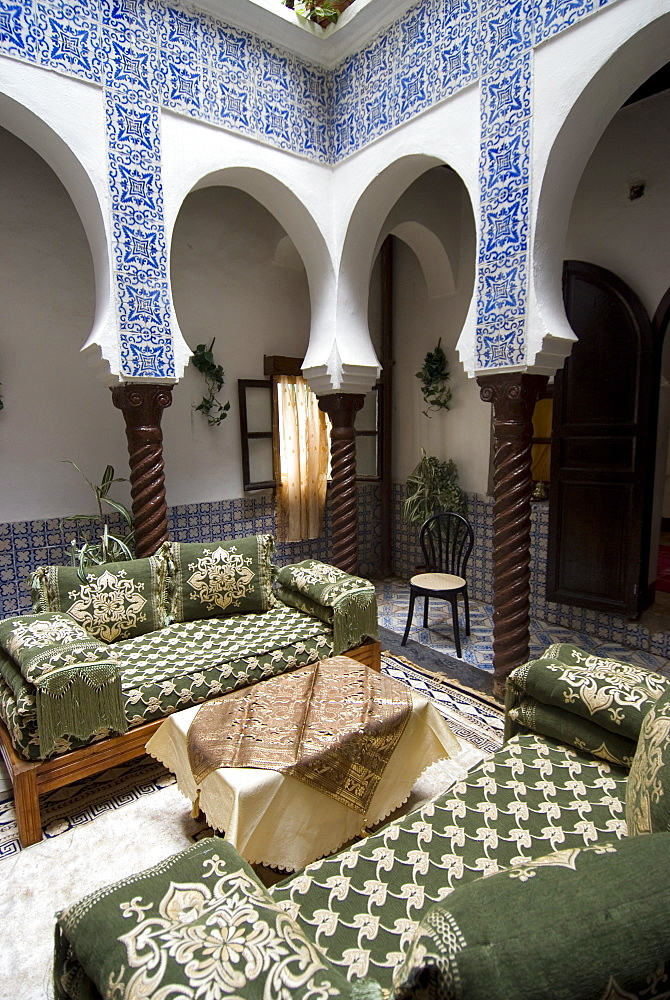 Renovated typical dwelling, also housed guerillas in the War of Independence against France, the Kasbah, UNESCO World Heritage Site, Algiers, Algeria, North Africa, Africa
