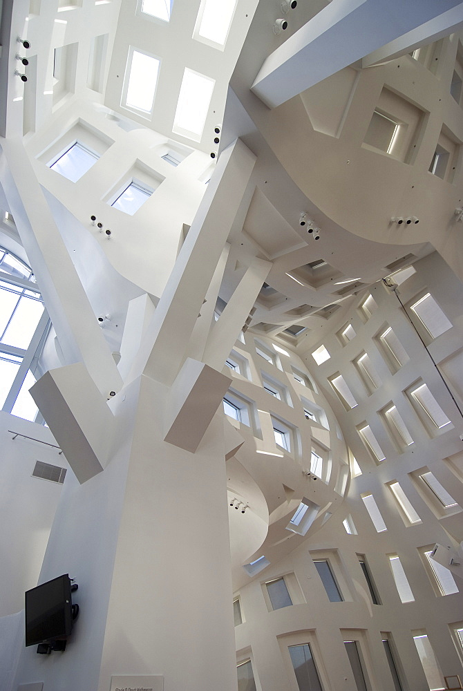The Cleveland Clinic, Lou Ruvo Center for Brain Health, Frank Gehry architect, Las Vegas, Nevada, United States of America, North America