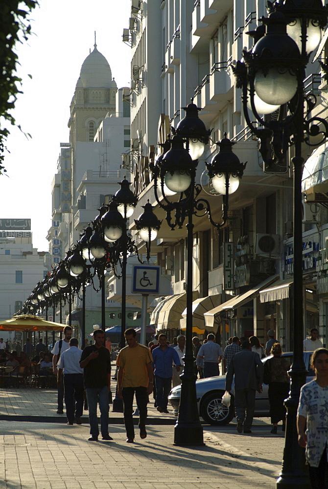 Avenue Habib Bourgiba, Tunis, Tunisia, North Africa, Africa
