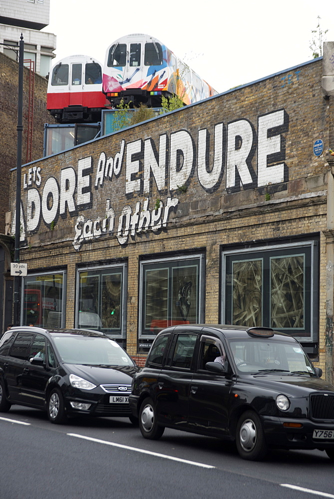 Great Eastern Street, London, E1, England, United Kingdom, Europe