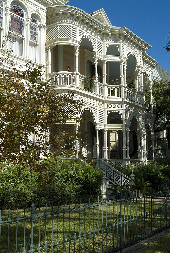Historic District, Galveston, Texas, United States of America, North America