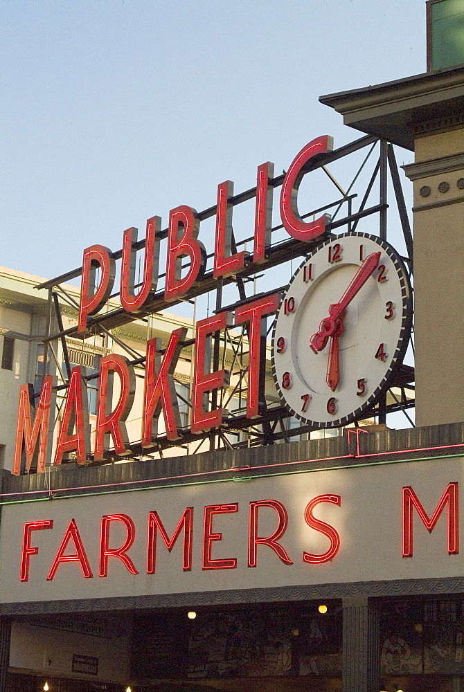 Pikes Market, Seattle, Washington state, United States of America, North America