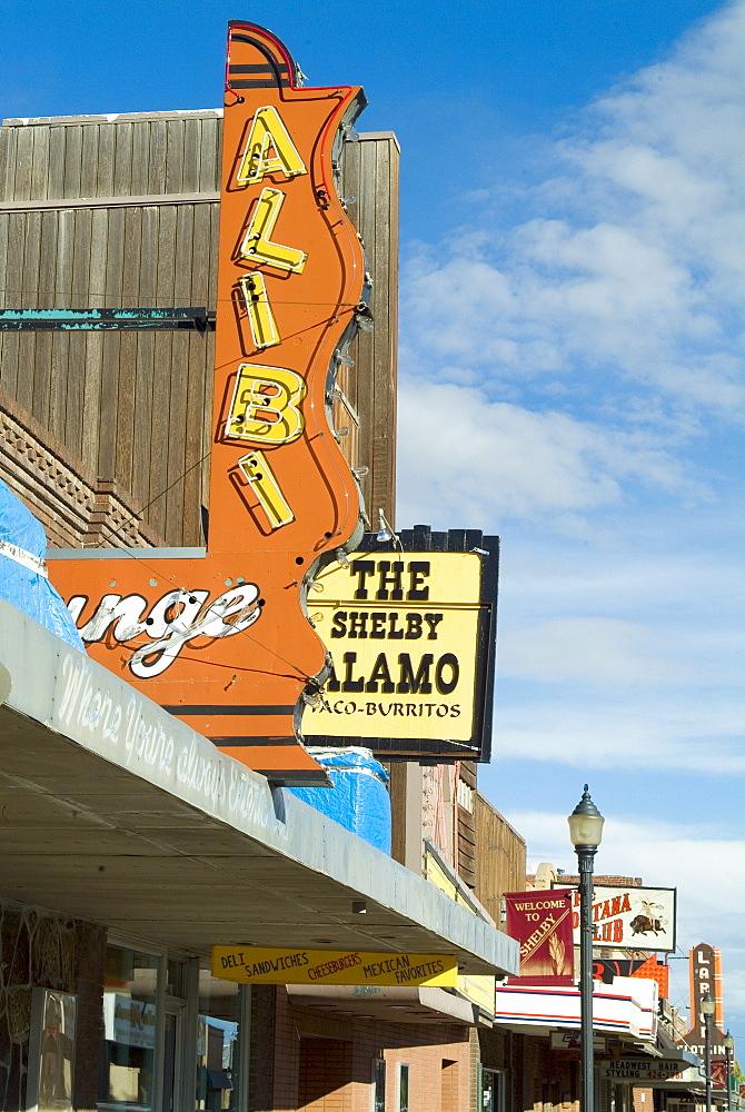 Main Street, Shelby, Montana, United States of America, North America