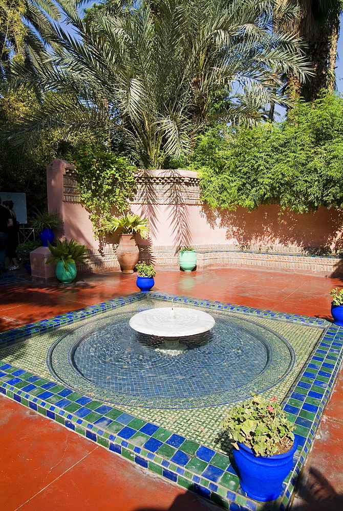 Jardin Majorelle, Marrakech, Morocco, North Africa, Africa