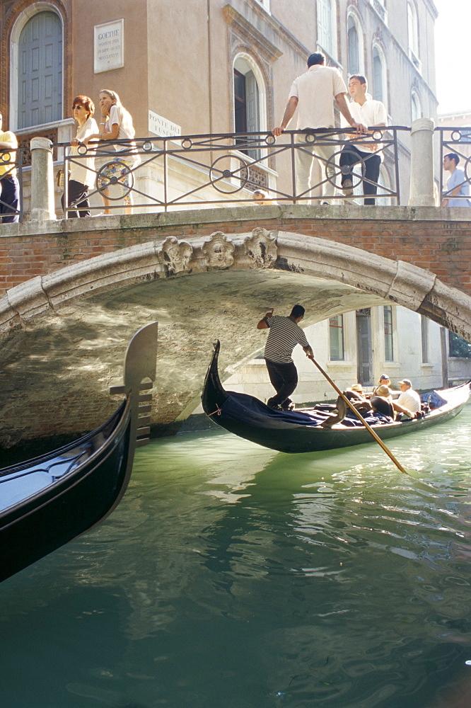 Gondola, Venice, Veneto, Italy, Europe - 695-383