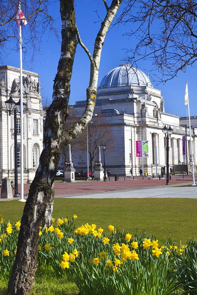 The National Museum of Wales, Cardiff, Wales, United Kingdom, Europe