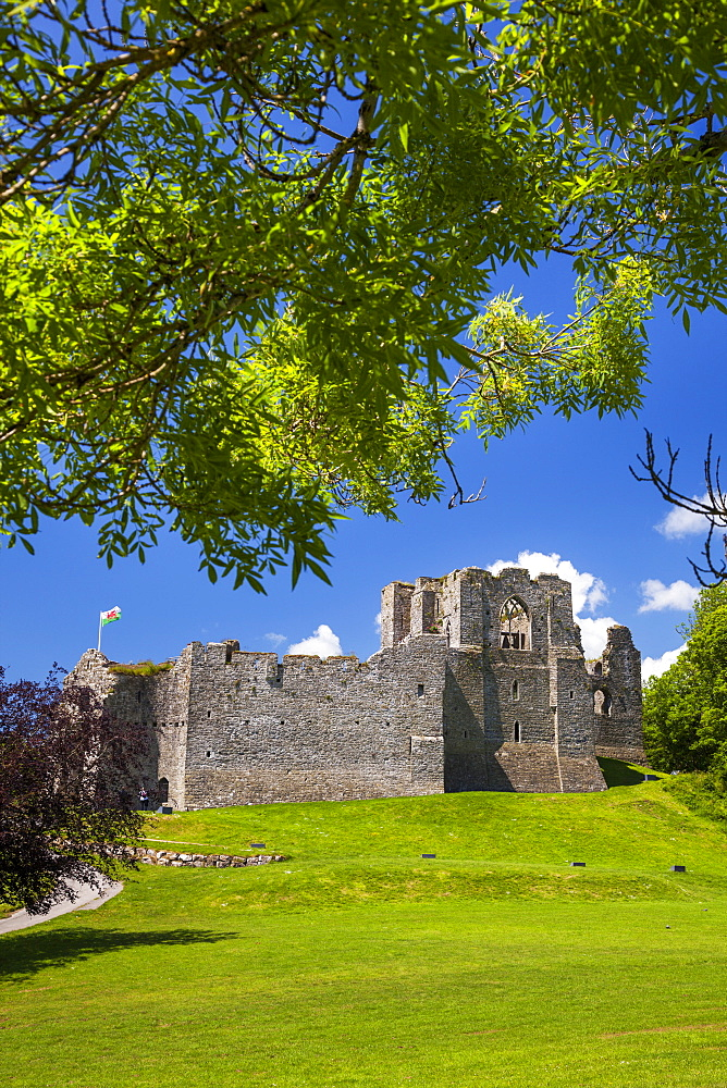 Oystermouth Castle, Mumbles, Gower, Wales, United Kingdom, Europe