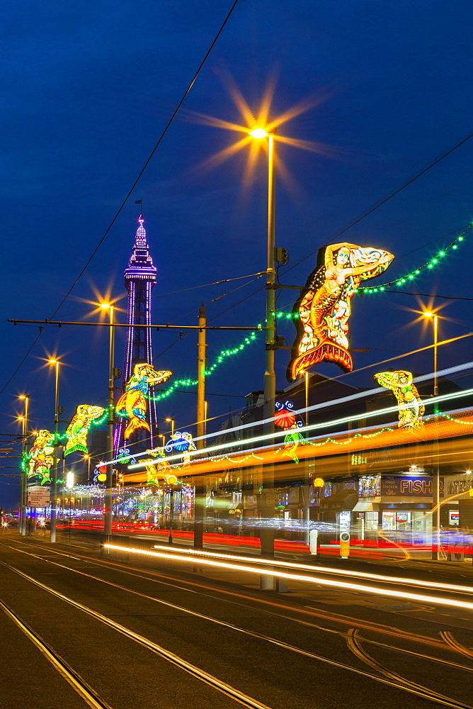 Illuminations, Blackpool, Lancashire, England, United Kingdom, Europe - 696-825