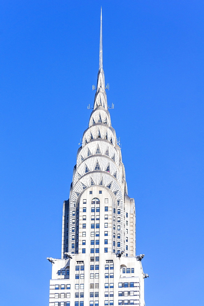 The art deco, stainless steel clad, Chrysler building, Manhattan, New York City, United States of America, North America, USA