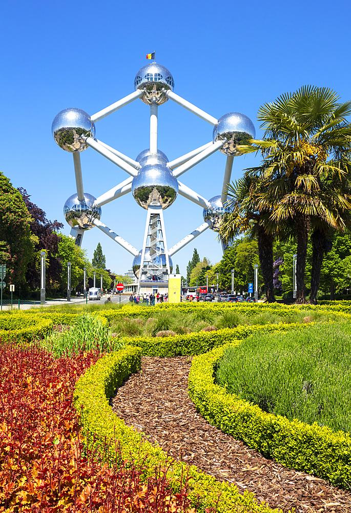 Brussels Atomium, Square de l'Atomium, Boulevard de Centaire, Brussels, Belgium, Europe - 698-3398