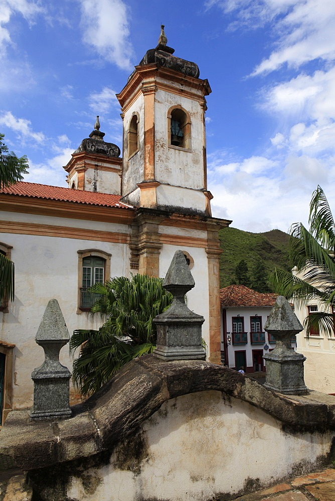 Historic town of Ouro Preto, UNESCO World Heritage Site, Minas Gerais, Brazil, South America - 700-13888
