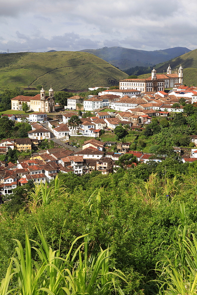 Historic town of Ouro Preto, UNESCO World Heritage Site, Minas Gerais, Brazil, South America - 700-13889