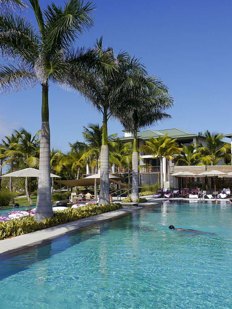 Luxury hotel and resort W, Vieques island, Puerto Rico, West Indies, Caribbean, Central America - 700-13909