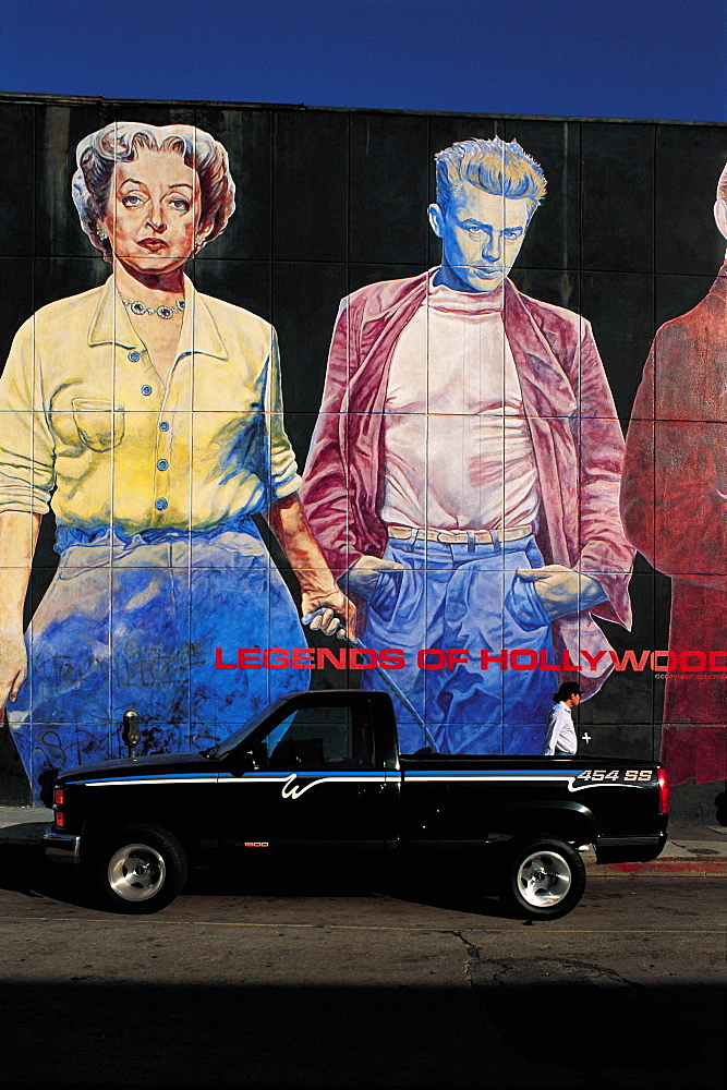 Los Angeles, Hollywood, Legend Of Hollywood Mural