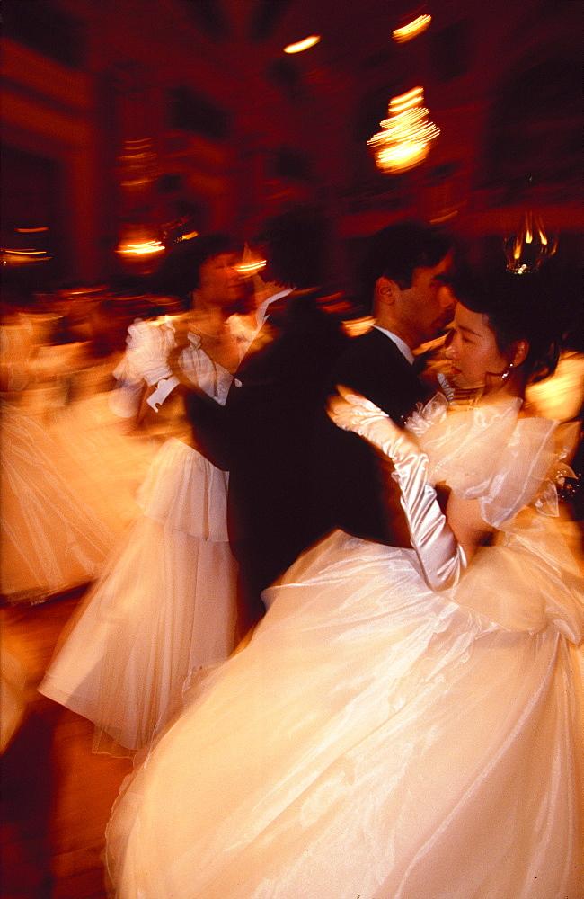 The Viennese Waltz at the Opera Ball, Vienna