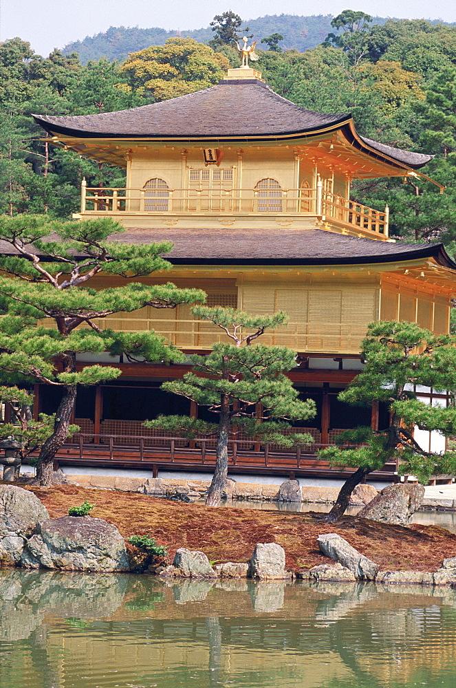 The Golden Pavilion, Kinkaku-Ji, Kyoto, Japan