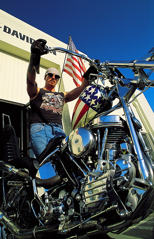 Harley Davidson (Easy Rider replica), California