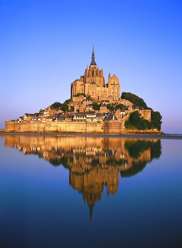 Mont St Michel, La Manche region